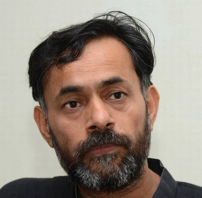 SWARAJ INDIA NATIONAL PRESIDENT YOGENDRA YADAV'S ARTICLE: No contradiction between seeing BJP as threat to India & voting NOTA this election