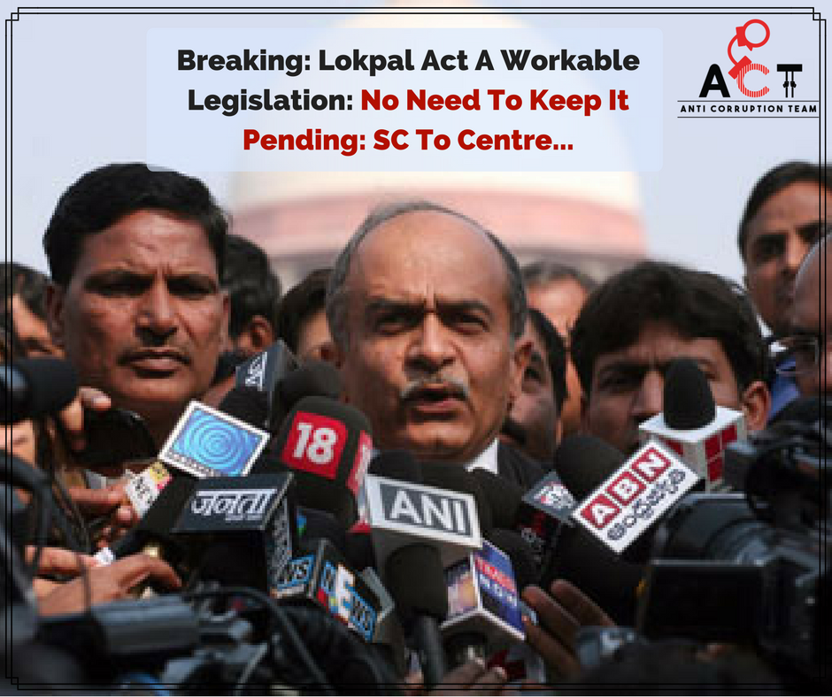 Appointment of Lokpal